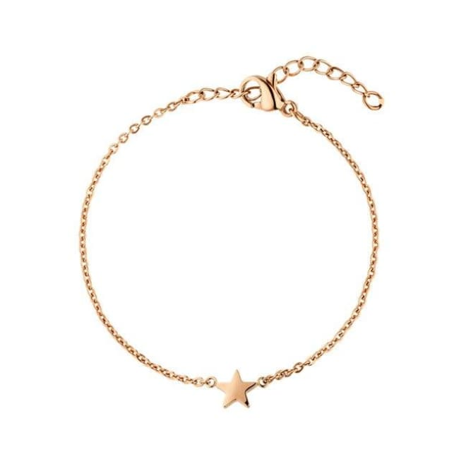 Bracelet STAR de la COLLECTION EVER - or rosé - bracelets - La boutique by c.