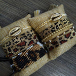 Bracelets LÉOPARD de la COLLECTION SOLEDAD - bracelets - La boutique by c.