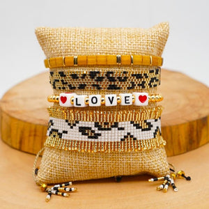 Bracelets NAOUSSA de la COLLECTION SOLEDAD - bracelets - La boutique by c.