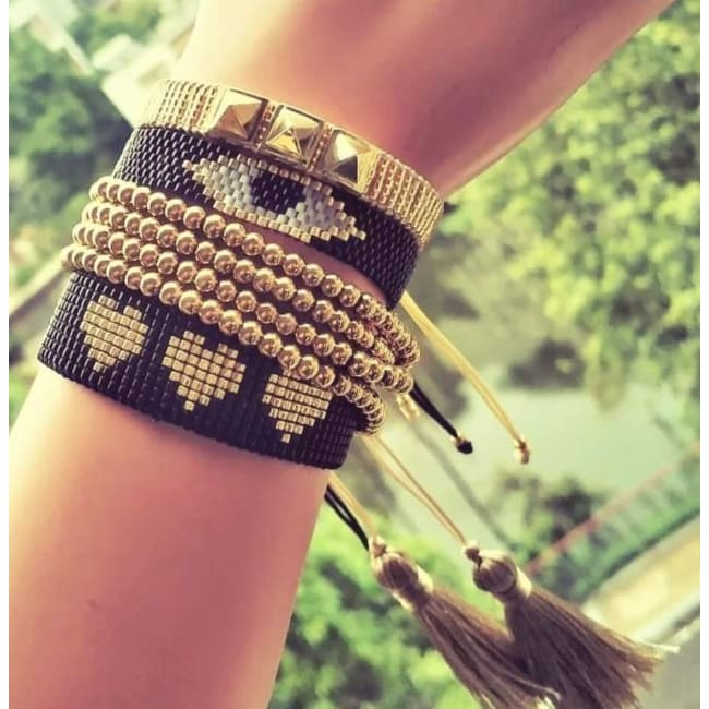 Bracelets RECIFE de la COLLECTION SOLEDAD - bracelets - La boutique by c.