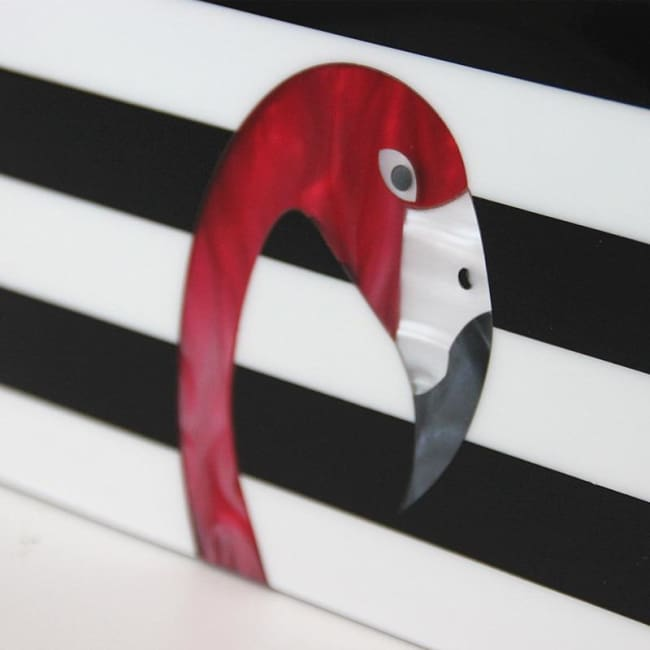 Clutch FLAMINGO - sacs - La boutique by c.
