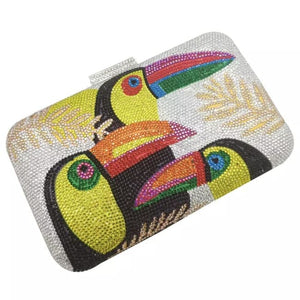 Clutch TOUCAN de la COLLECTION BCBG - sacs - La boutique by c.