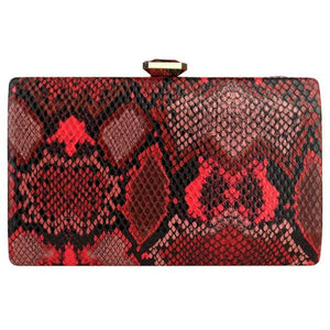 Clutch VENIN de la COLLECTION VANITÉ - rouge - sacs - La boutique by c.