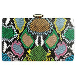 Clutch VENIN de la COLLECTION VANITÉ - vert - sacs - La boutique by c.