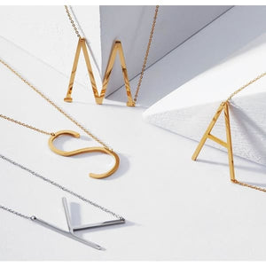 Collier Alphabet - Colliers - La Boutique By C.