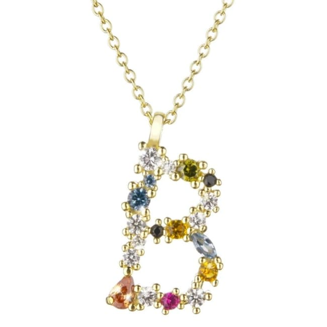 Collier ALPHABET de la COLLECTION ADDICT - B - colliers - La boutique by c.