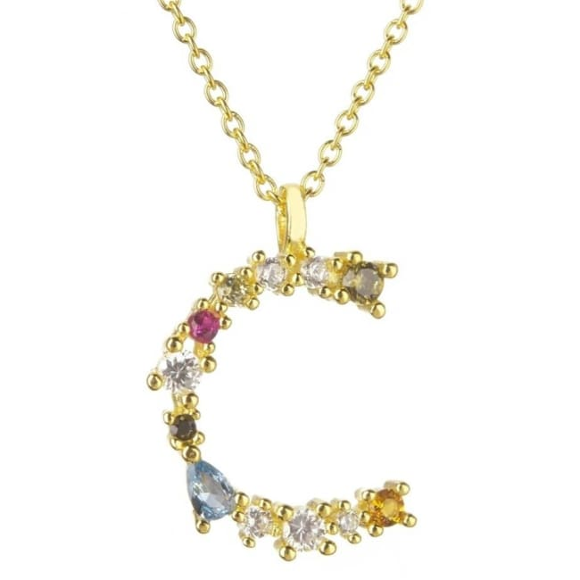 Collier ALPHABET de la COLLECTION ADDICT - C - colliers - La boutique by c.