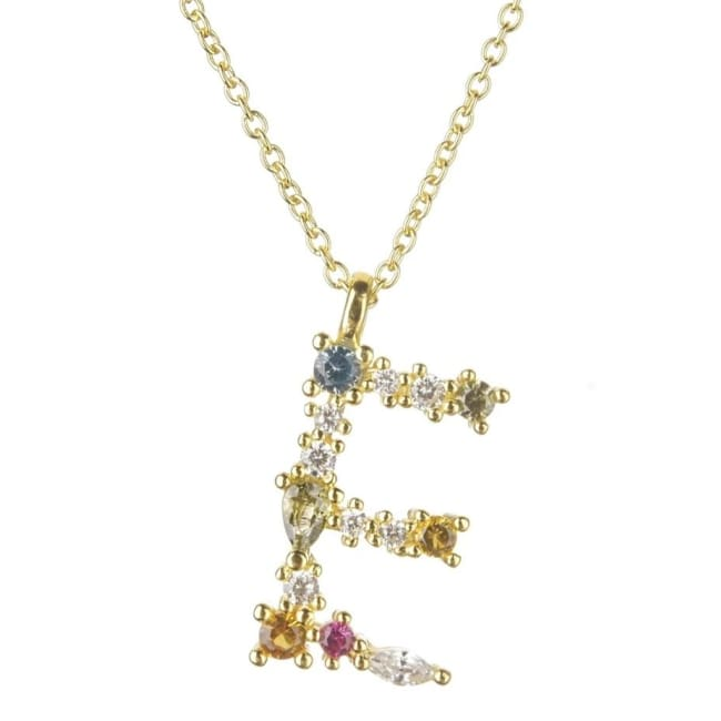 Collier ALPHABET de la COLLECTION ADDICT - E - colliers - La boutique by c.
