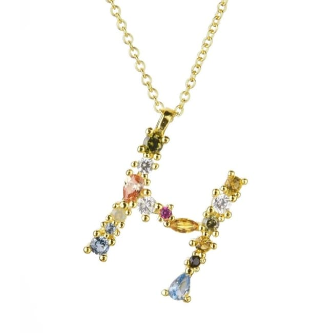 Collier ALPHABET de la COLLECTION ADDICT - H - colliers - La boutique by c.