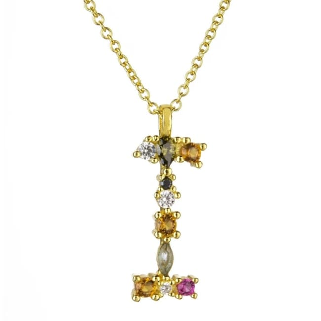 Collier ALPHABET de la COLLECTION ADDICT - I - colliers - La boutique by c.