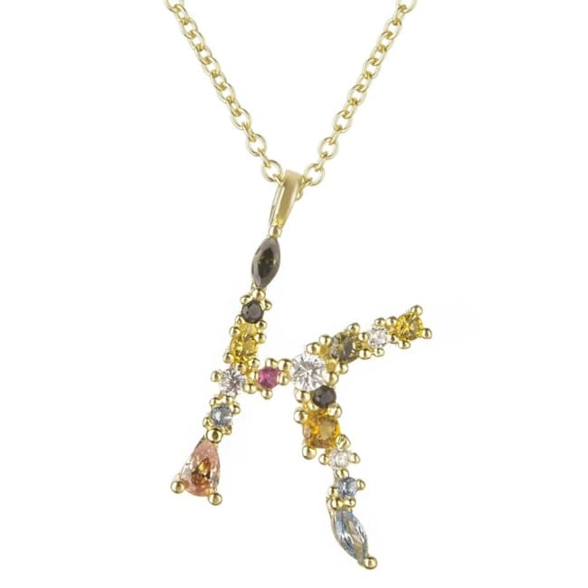 Collier ALPHABET de la COLLECTION ADDICT - K - colliers - La boutique by c.