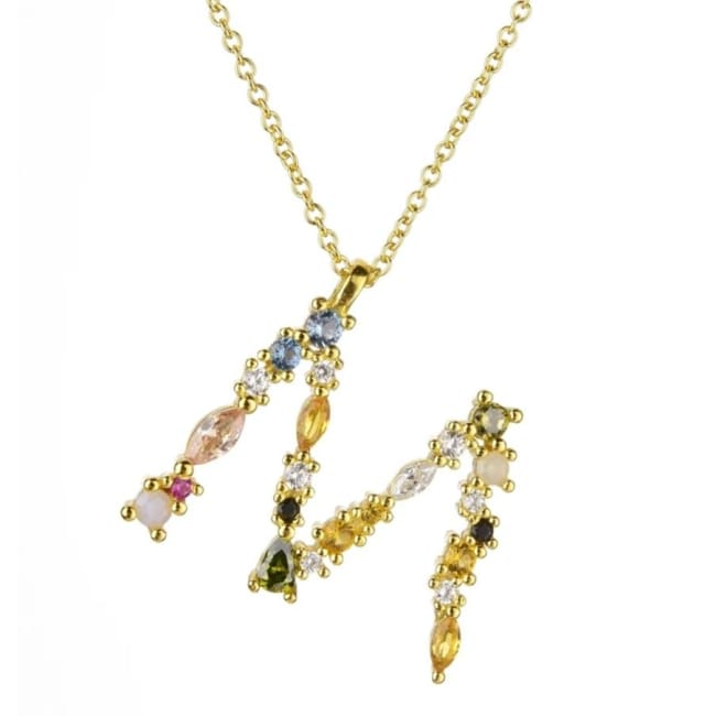 Collier ALPHABET de la COLLECTION ADDICT - M - colliers - La boutique by c.
