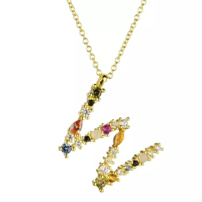 Collier ALPHABET de la COLLECTION ADDICT - W - colliers - La boutique by c.