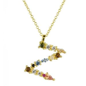 Collier ALPHABET de la COLLECTION ADDICT - Z - colliers - La boutique by c.