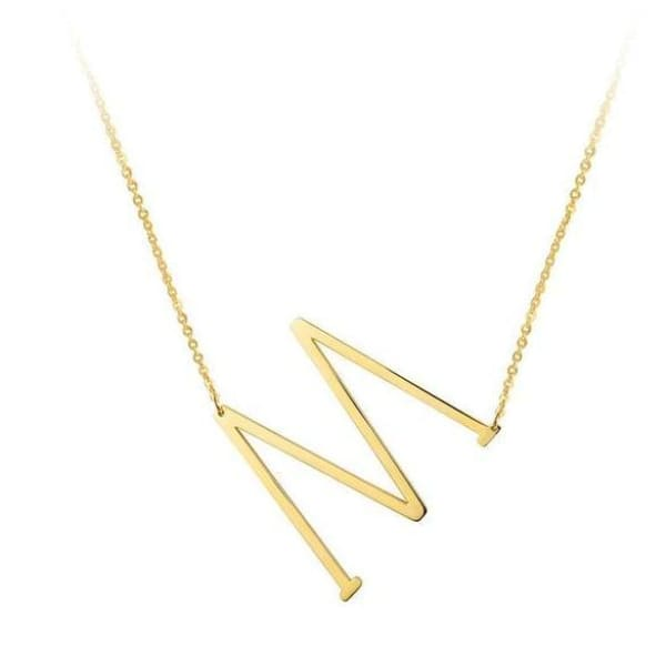 Collier Alphabet - M - Colliers - La Boutique By C.
