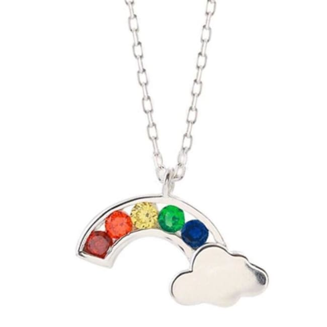 Collier ARC-EN-CIEL de la COLLECTION MY GIRL - colliers - La boutique by c.
