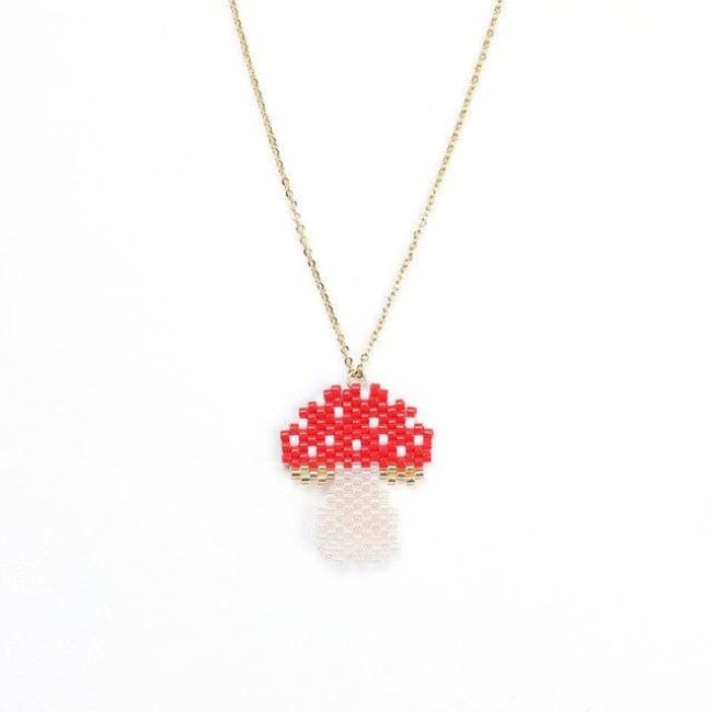 Collier CHAMPIGNON de la COLLECTION HAPPY - colliers - La boutique by c.