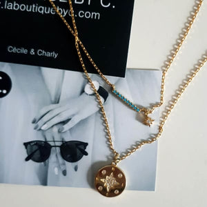 Collier Double Rang Boheme Chic - Bijoux - La Boutique By C.