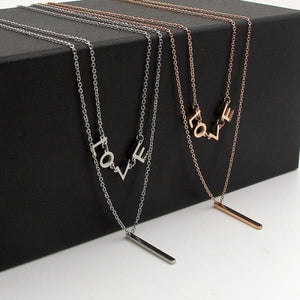 Collier Double Rang When I Love - Bijoux - La Boutique By C.