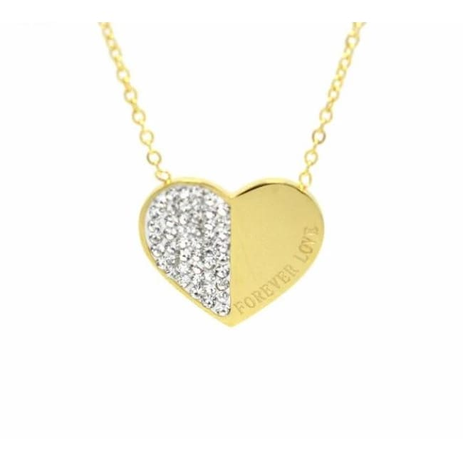 Collier FOREVER LOVE - doré - colliers - La boutique by c.