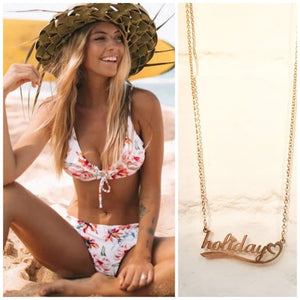 Collier HOLIDAY - colliers - La boutique by c.