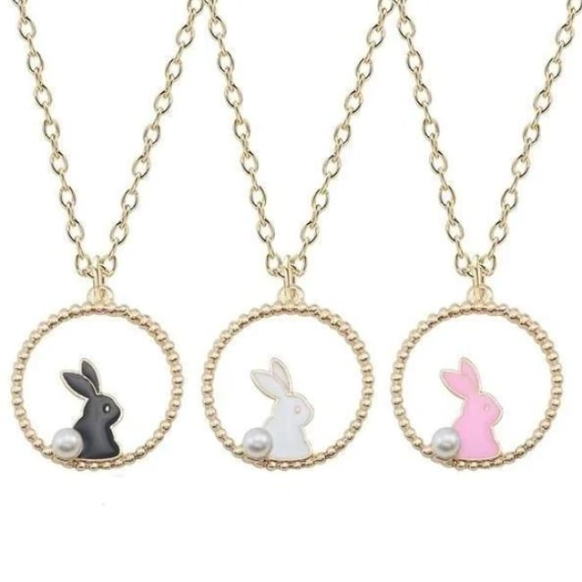 Collier LAPIN de la COLLECTION MIOCHE - colliers - La boutique by c.