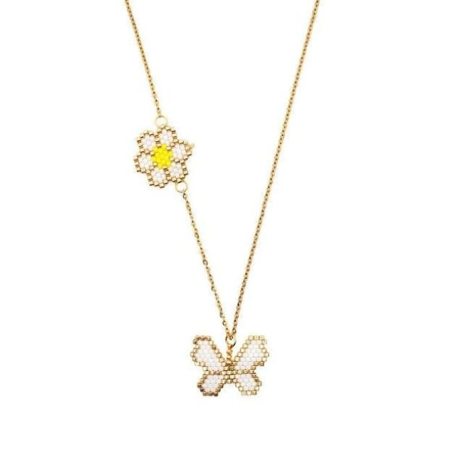 Collier PAPILLON de la COLLECTION HAPPY - colliers - La boutique by c.