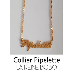 Collier PIPELETTE - colliers - La boutique by c.