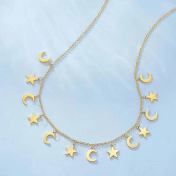 Collier STAR & MOON - colliers - La boutique by c.