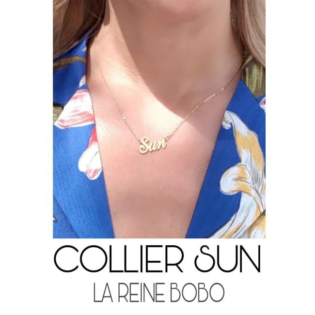 Collier SUN - colliers - La boutique by c.