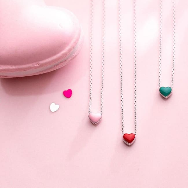 Collier SWEAT LOVE de la COLLECTION CHIPIE - colliers - La boutique by c.
