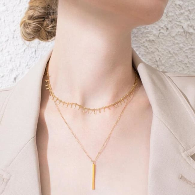 Collier ZEN de la COLLECTION FOLIE DOUCE - colliers - La boutique by c.