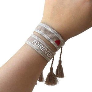Duo de bracelets FOREVER LOVE de la COLLECTION SUMMER - bracelets - La boutique by c.