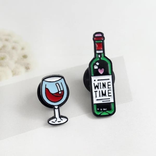 Duo De Pins Wine Time - Bijoux - La Boutique By C.