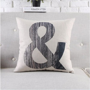 Housses de coussin COLLECTION BLACK AND WHITE - & - coussins - La boutique by c.