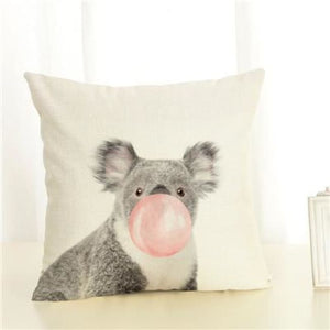 Housses de coussin COLLECTION BUBBLE - Koala/rose - coussins - La boutique by c.