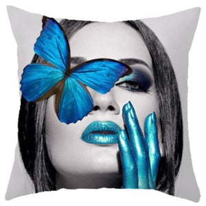 Housses de coussin COLLECTION BUTTERFLY - CLAUDIA - coussins - La boutique by c.