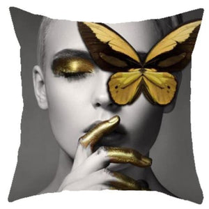 Housses de coussin COLLECTION BUTTERFLY - KATE - coussins - La boutique by c.