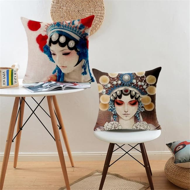 Housses de coussin COLLECTION CHINA GIRL - coussins - La boutique by c.