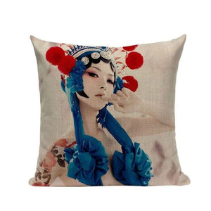 Housses de coussin COLLECTION CHINA GIRL - KOSAME - coussins - La boutique by c.