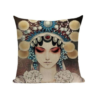 Housses de coussin COLLECTION CHINA GIRL - LING - coussins - La boutique by c.
