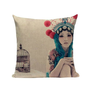 Housses de coussin COLLECTION CHINA GIRL - NAMI - coussins - La boutique by c.