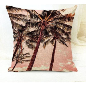 Housses De Coussin Collection Coconut - Santa Monica Beach - Coussins - La Boutique By C.