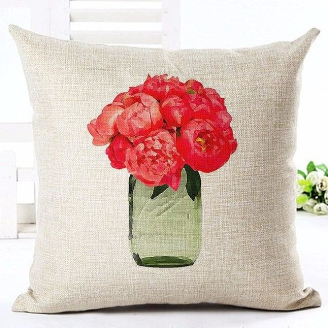 Housses de coussin COLLECTION FLOWERS - F. garance - coussins - La boutique by c.