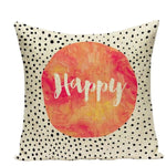 Housses de coussin COLLECTION JARDIN SECRET - happy - coussins - La boutique by c.