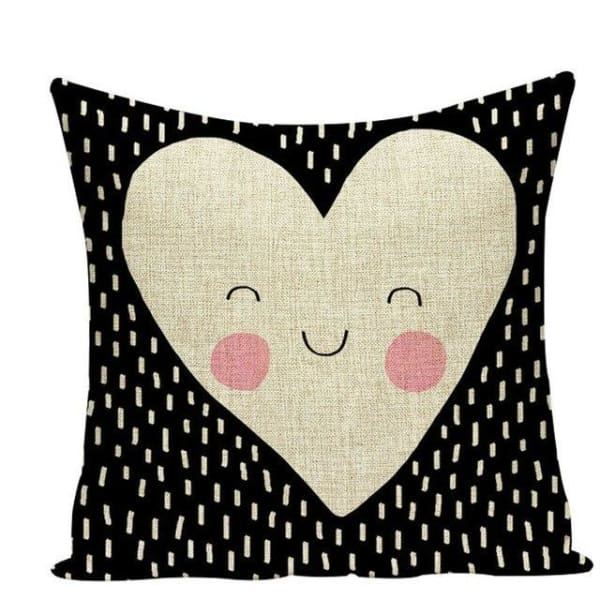 Housses de coussin COLLECTION JARDIN SECRET - love - coussins - La boutique by c.