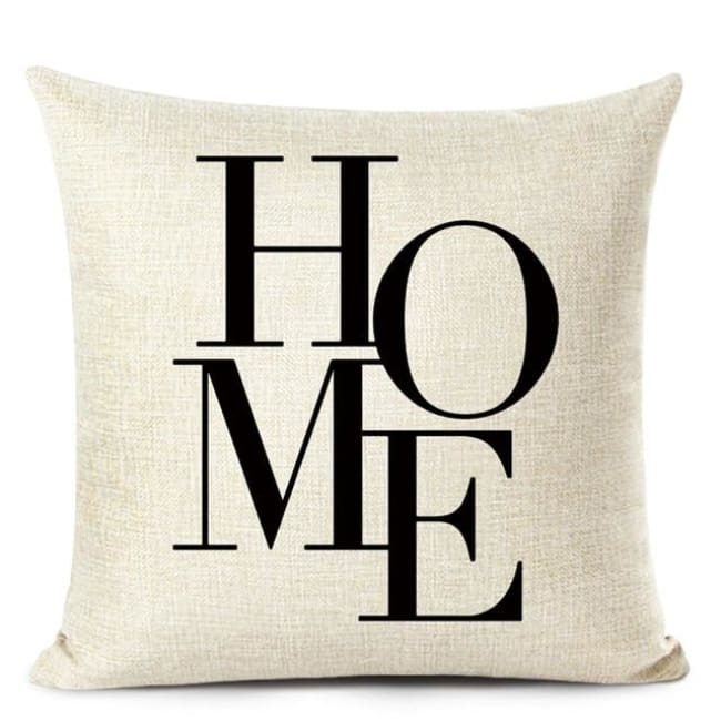 Housses de coussin COLLECTION LOVE HOME - B - coussins - La boutique by c.