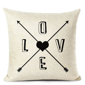 Housses de coussin COLLECTION LOVE HOME - E - coussins - La boutique by c.