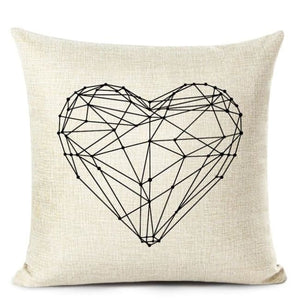 Housses de coussin COLLECTION LOVE HOME - F - coussins - La boutique by c.