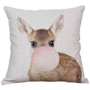 Housses de coussin COLLECTION PINK BUBBLE - kangourou - coussins - La boutique by c.
